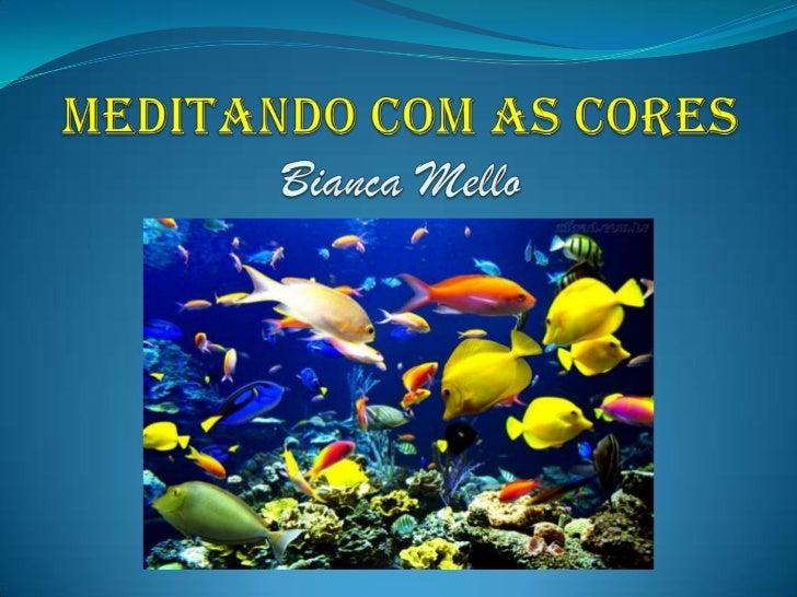 MEDITANDO COM AS CORESBianca Mello<br />