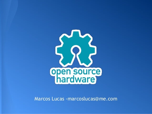 Palestra: Open Source Hardware - N3RD EXPO 2013