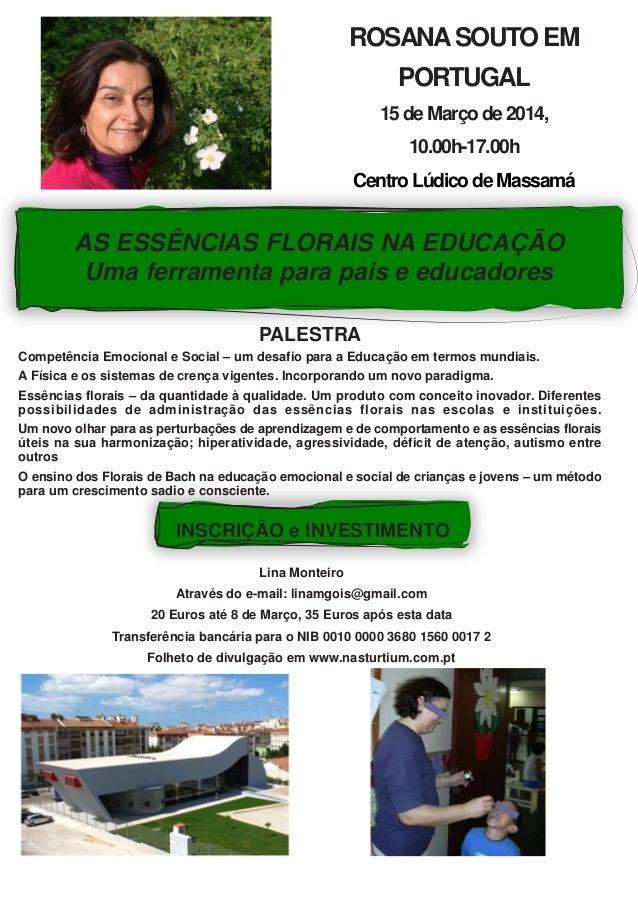 Palestra rosana souto (poster)