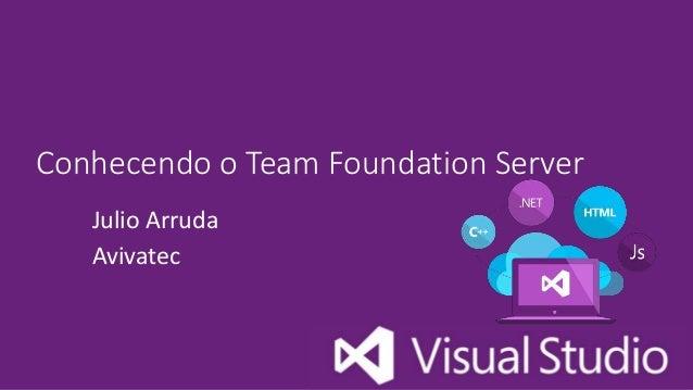 Conhecendo o Team Foundation Server