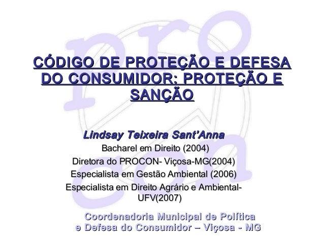 Palestra UFV - Direito Do Consumidor