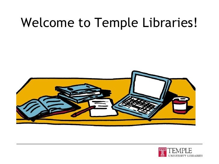 Welcome to Temple Libraries!