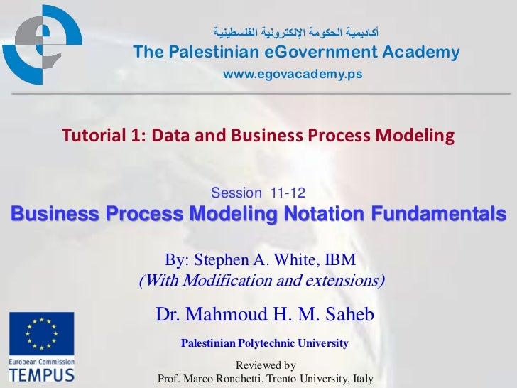 Business Process Modeling Notation Fundamentals