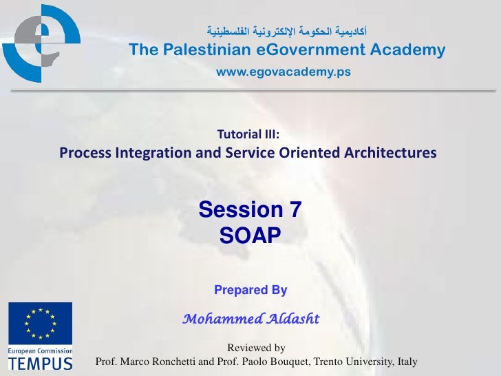 Pal gov.tutorial3.session6.soap