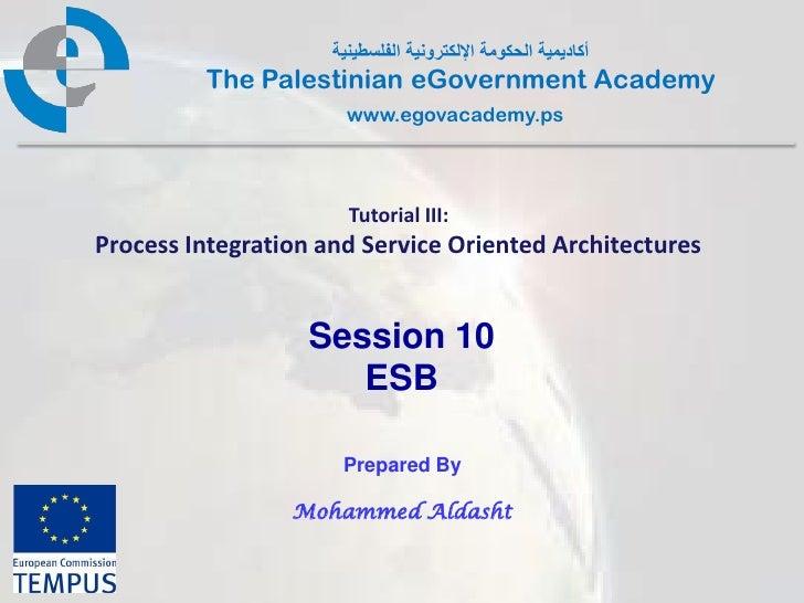 Pal gov.tutorial3.session9.esb