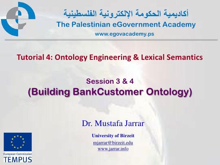 Pal gov.tutorial4.session3.lab bankcustomerontology