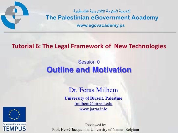 أكاديمية الحكومة اإللكترونية الفلسطينية           The Palestinian eGovernment Academy                           www.egov...