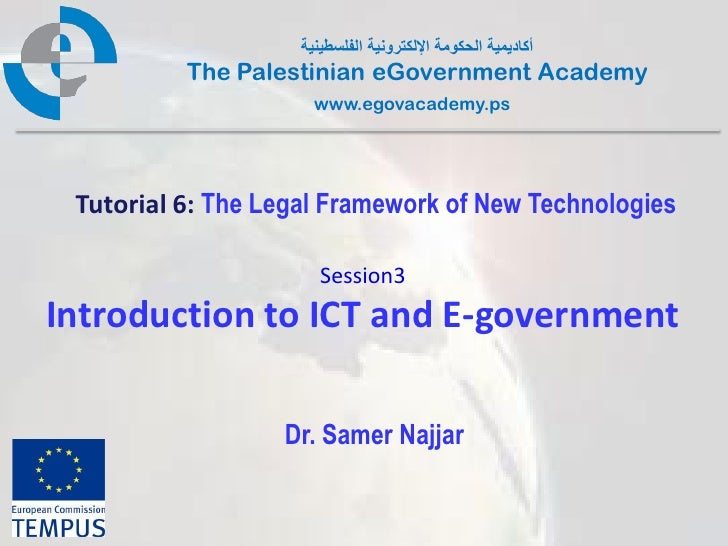 Pal gov.tutorial6.session3.introduction to ict and e government