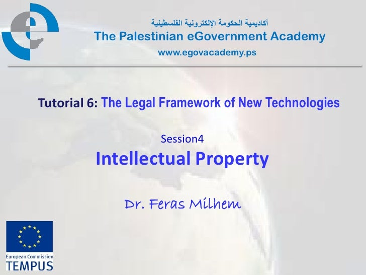 Pal gov.tutorial6.session4.intellectual property