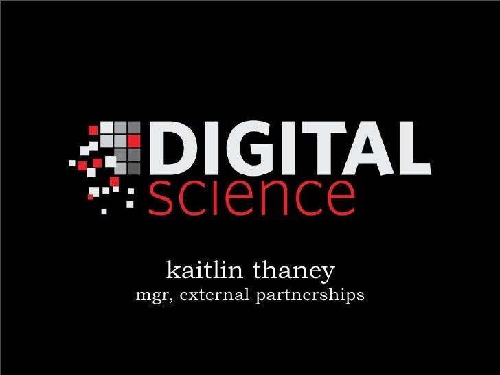 kaitlin thaneymgr, external partnerships