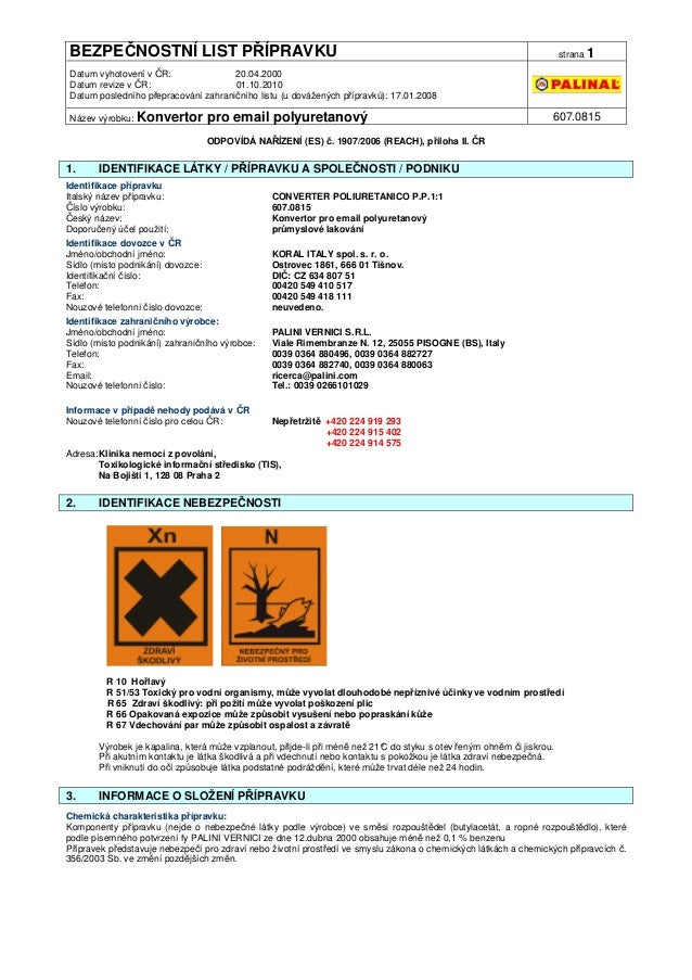 Palinal bezpecnostni-list-607.0815