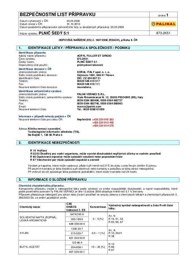 Palinal bezpecnostni-list-873.2k51