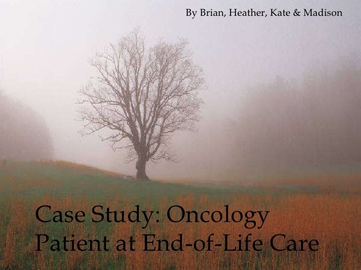 Case study for palliative care patient
