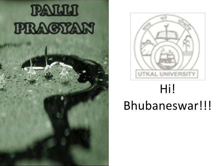 Hi! Bhubaneswar!!!