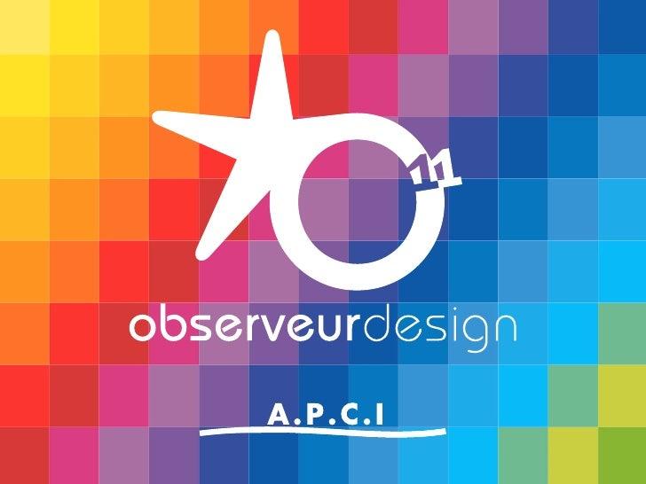 Les 33 étoiles de l'Observeur du design 11