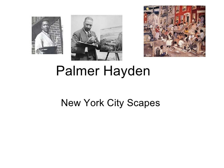 Palmer HaydenNew York City Scapes