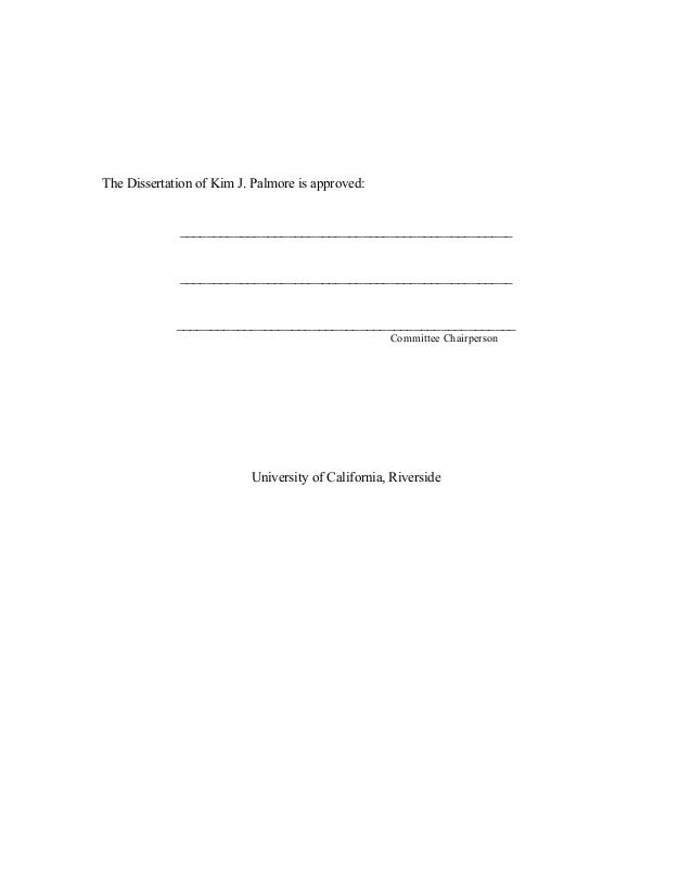 Martin hoefer dissertation