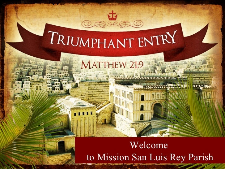 Journey with Jesus this Holy Week
