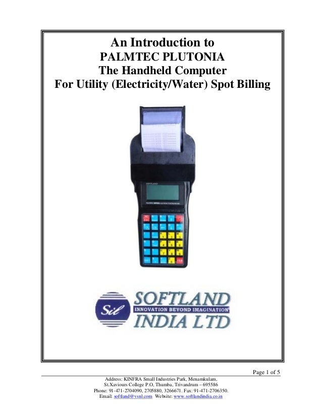 An Introduction to             An Introduction to         PALMTEC PLUTONIA         PALMTEC PLUTONIA        The Handheld Co...