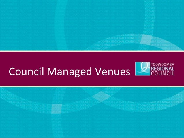 Council Managed Venues