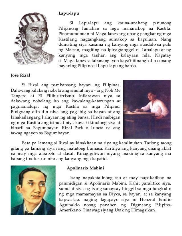 mga nagawa ni rizal Dahil sa kanyang mga gawa ay nagawa nating mahalin ang pilipinas at  ipagtanggol ito, katulad ng ginawa ni rizal, laban sa mga gustong sumako ditto.