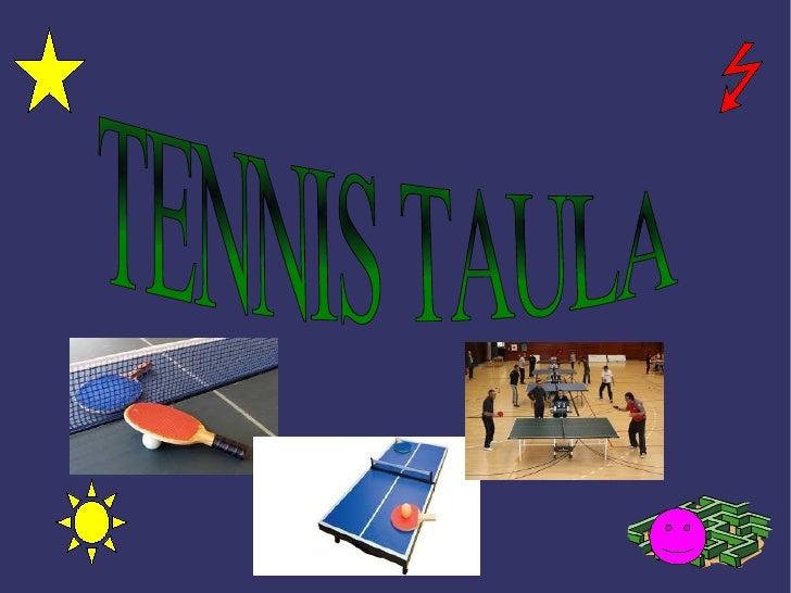 Pamela i yanelly tenis taula