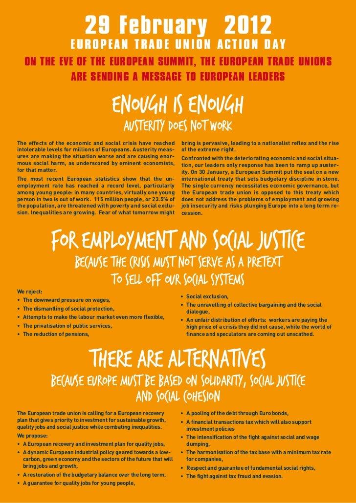 Pamflet evv europese actiedag 29 februari 2012