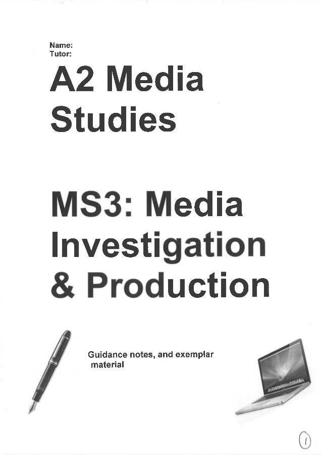 Write my a2 media coursework