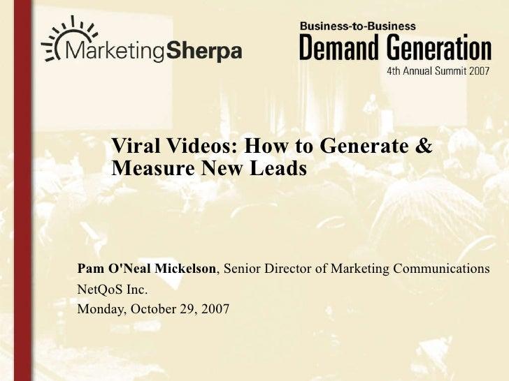 MarketingSherpa B2B Marketing Summit