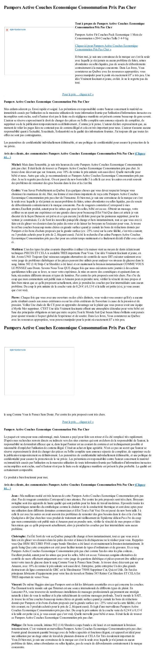 Pampers Active Couches Economique Consommation Prix Pas CherPour le prix ... cliquez ici! »Pampers Active Couches Economiq...