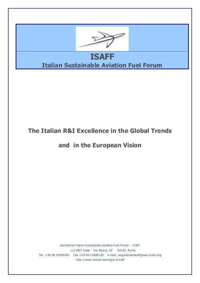 Brochure ISAFF