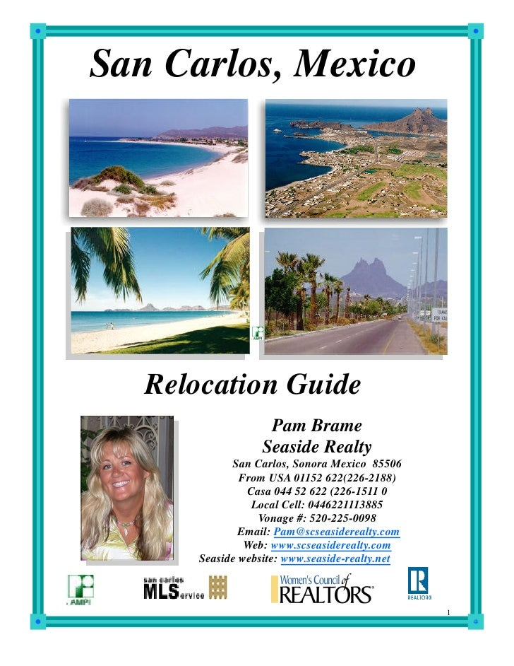 San Carlos, Mexico        Relocation Guide                    Pam Brame                   Seaside Realty             San C...