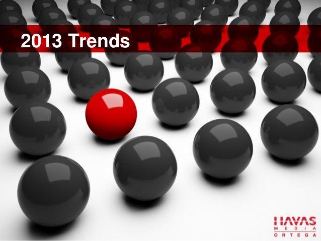 13 Trends of 2013 - by Eduardo Mapa Jr, Executive Partner at Havas Media Ortega