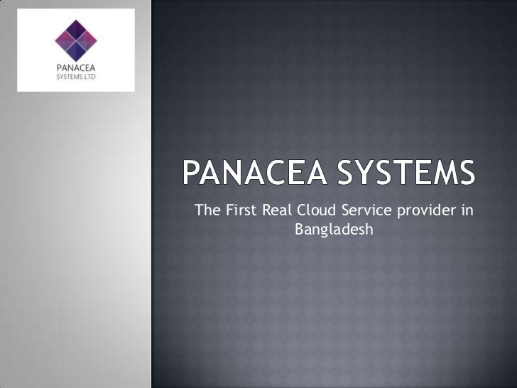 Panacea presentation for teh institute of information technology (2)