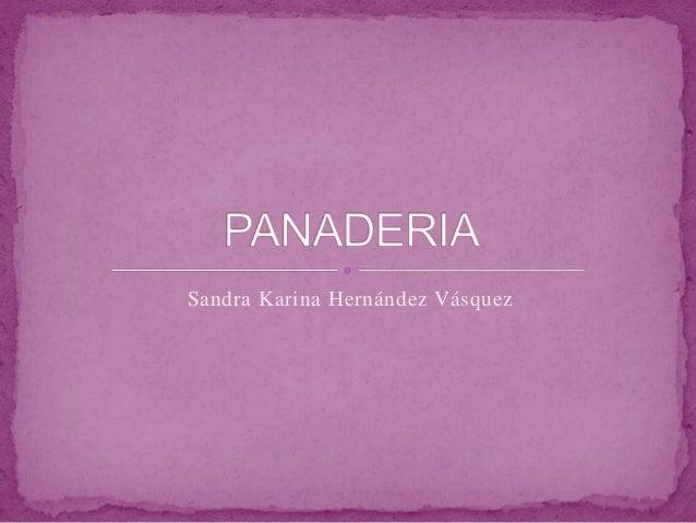 Sandra Karina Hernández Vásquez