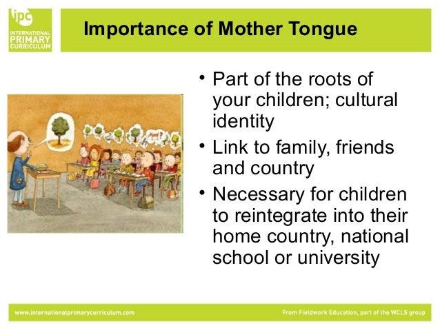 Essay Mother Tongue