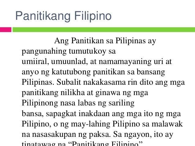 mga sangay ng panitikang pilipino