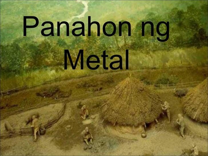 Panahon ng Metal
