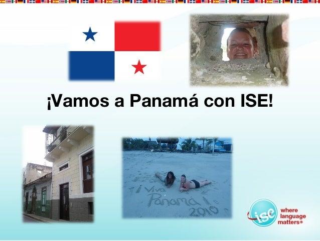 ¡Vamos a Panamá con ISE!