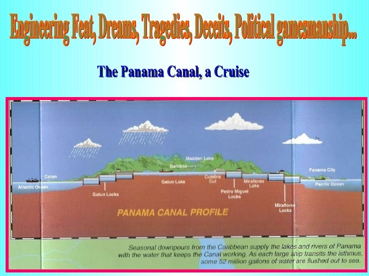 Engineering Feat, Dreams, Tragedies, Deceits, Political gamesmanship... The Panama Canal, a Cruise