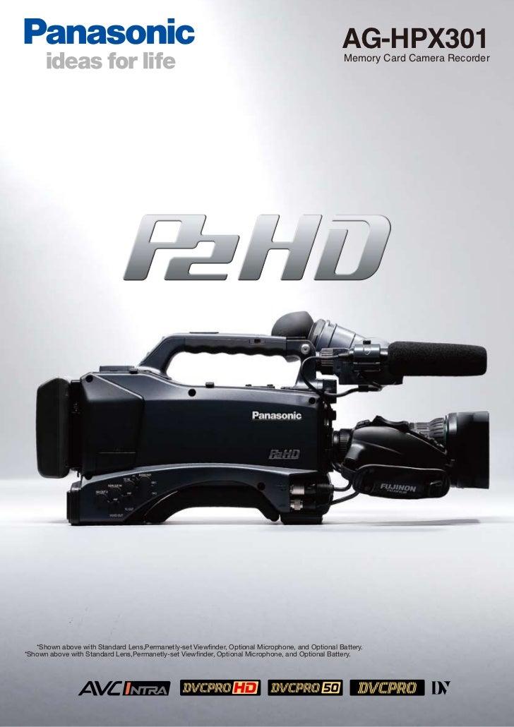 AG-HPX301                                                                                                  Memory Card Cam...