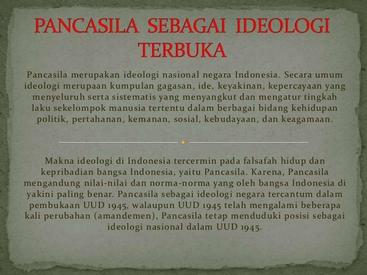 Image result for pancasila sebagai ideologi terbuka