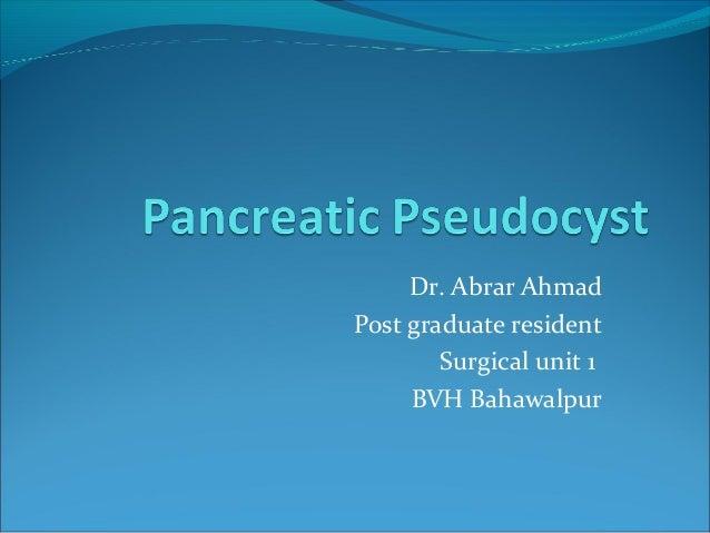 Dr. Abrar AhmadPost graduate resident        Surgical unit 1     BVH Bahawalpur