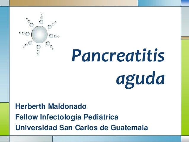 Pancreatitis, colangitis, colecistitis en pediatría