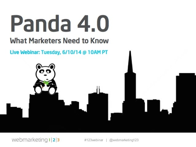 Panda 4.0: What Marketers Need to Know