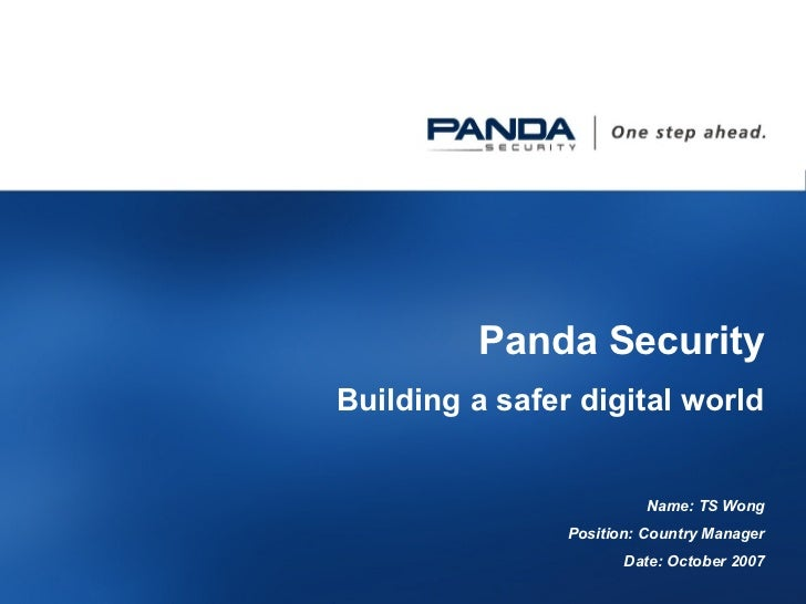 Panda Security2008