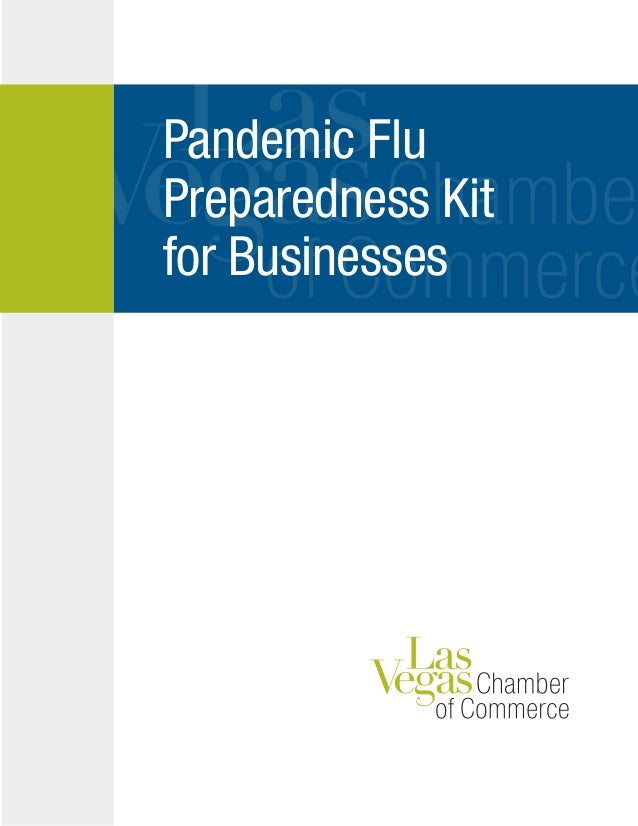Pandemic Flu Preparedness Kit for Businesses