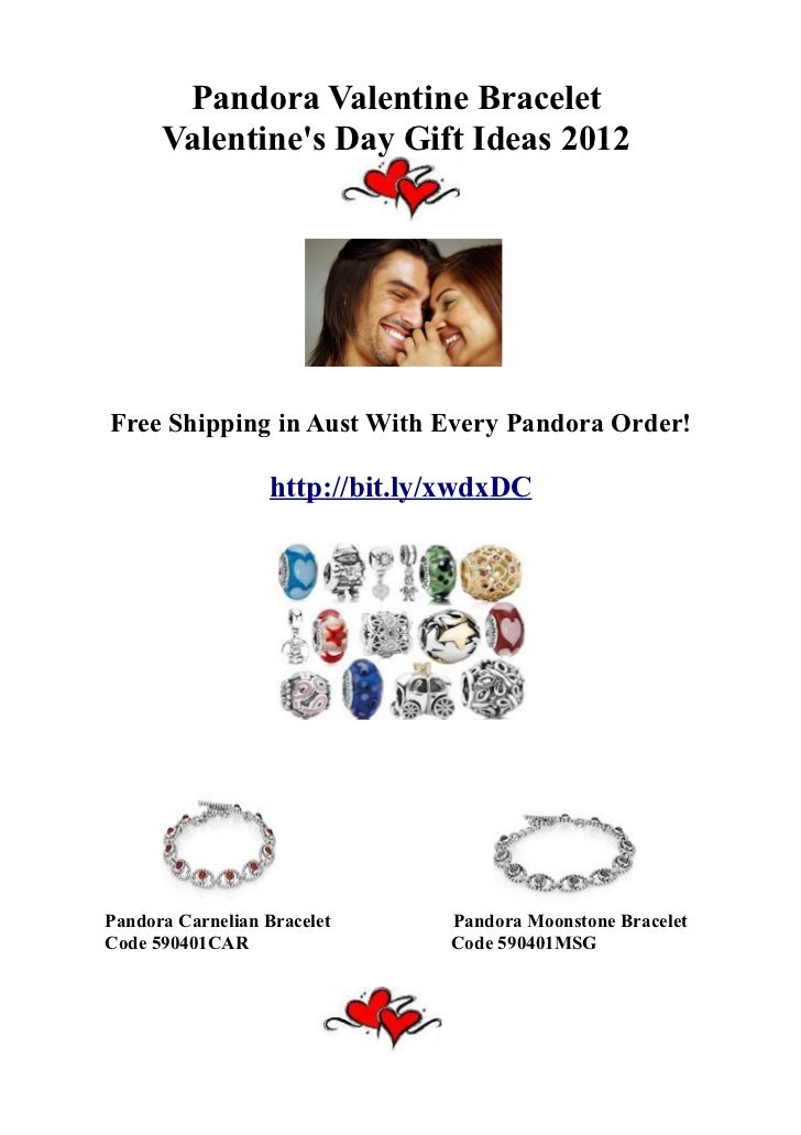 Pandora Valentine Bracelet Valentines Day Gift Ideas 2012