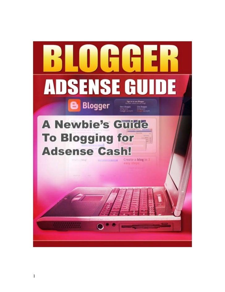 Panduan Blogger Adsense