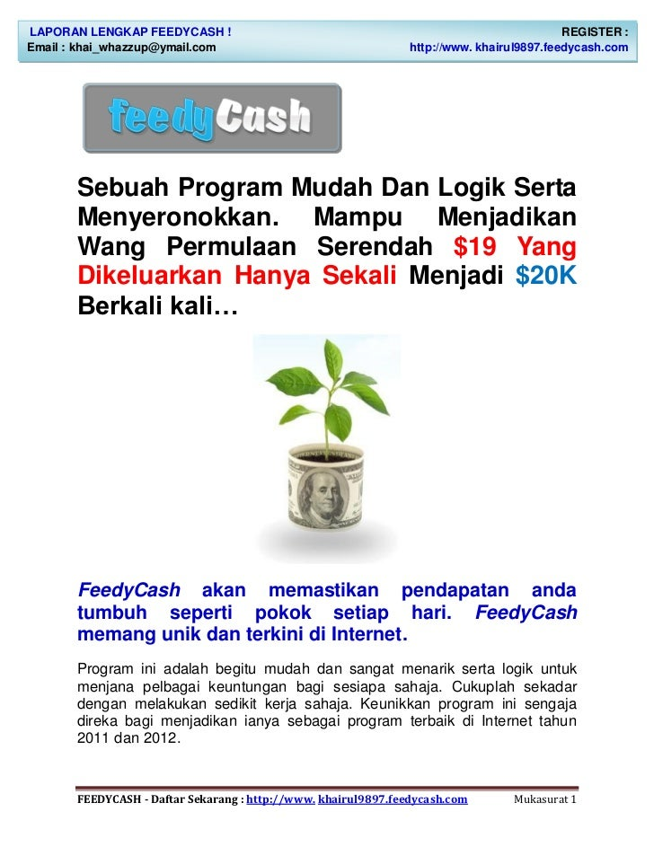Panduan feedycash